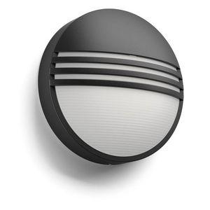 Philips - applique ronde extérieur yarrow led ip44 h21 cm - Applique Per Esterno