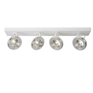 LUCIDE - spot rond quadruple xentrix led - Faretto