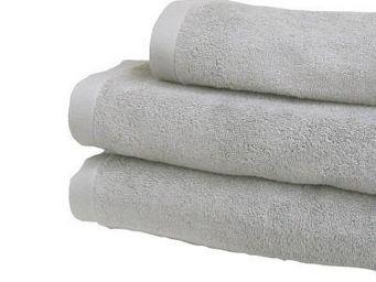 Liou - drap de douche gris perle - Asciugamani