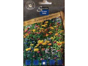LES DOIGTS VERTS - semence mélange fleurs pour oiseaux 20g - Semenza