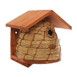 Esschert Design - nichoir ruche mésanges charbonnières - Casetta Per Uccelli