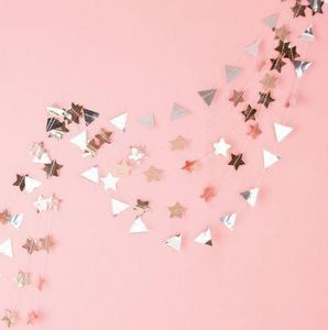 MY LITTLE DAY - étoiles dorées - Ghirlanda Di Natale