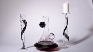 CERVA design - decanter set - Caraffa