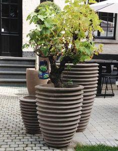 TERRACOTTA D'ARTE - nekuma grigio - Vaso Per Albero