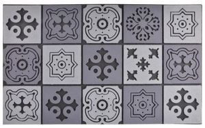 Esschert Design - tapis en caoutchouc motif mosaique - Zerbino