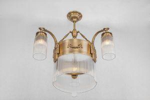 PATINAS - strasbourg 3 armed chandelier - Lampadario