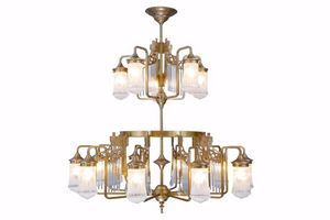 PATINAS - triest 15 armed chandelier - Lampadario