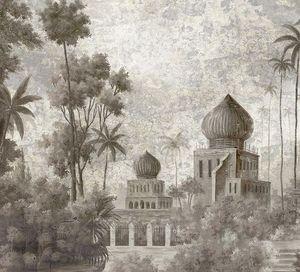 Ananbô - badalpur grisaille - Carta Da Parati Panoramica