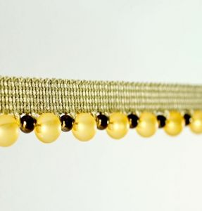 Sanderson - beaded braid - Passamano
