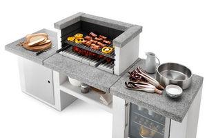 Palazzetti - --modulaire - Cucina Per Esterni