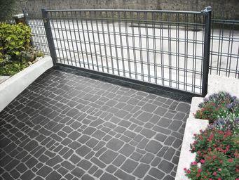 ISOPLAM -  - Pavimento Decorato In Calcestruzzo