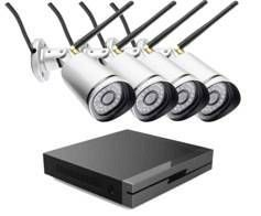 7 LINKS - pack 4 caméras ip outdoor ipc-850.fhd + enregistreur full hd - Videocamera Di Sorveglianza