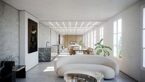 Studio Vincent Eschalier - appartement grenelle - Progetto Architettonico Per Interni