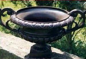 Fonderies Du Val De Saone -  - Vaso A Coppa Da Giardino