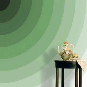 Duffy London - green semi-circles - Carta Da Parati