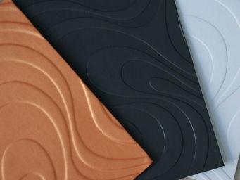 Christophe Fey Concept -  - Rivestimento Quadrato In Cuoio