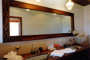 Matahati - miroir et meuble salle de bain sur mesure - Specchio Bagno