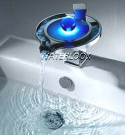 WATERLOOK -  - Miscelatore Per Lavabo Con Illuminazione