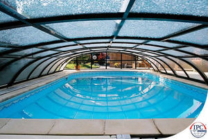 Telescopic Pool Enclosures -  - Copertura Alta Indipendente Per Piscina