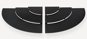 Rigaflex - escalier 1/4 de rond - Espositore Per Buffet