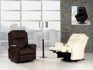 KIREMBO DECO - sillón relax cn-553b, piel/pvc - Poltrona Relax