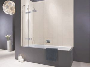 Matki - eauzone plus hinged bath screens - Parete Doccia