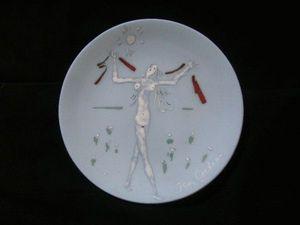 SYLVIA POWELL DECORATIVE ARTS - atalante - Piatto Decorativo