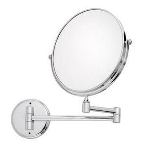 International Hotel Accessories - chrome magnifying mirror 8 inch - Specchio Bagno