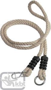Kbt - rallonge de corde en chanvre synthétique 1,10m à 1 - Attrezzi Ginnici