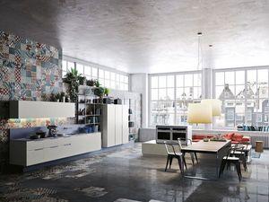 Snaidero - orange_-. - Cucina Moderna