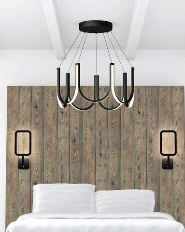 ARPEL LIGHTING - Lampada a sospensione-ARPEL LIGHTING-U7 Noire